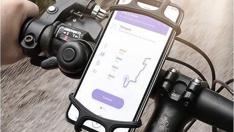 Silikonový držák mobilu na kolo Floveme
