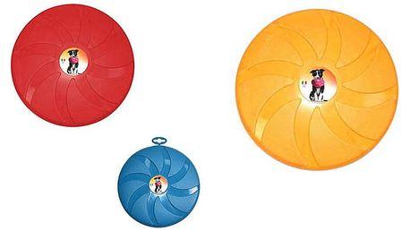 Létající talíř Argi pro pejsky ve 3 barvách