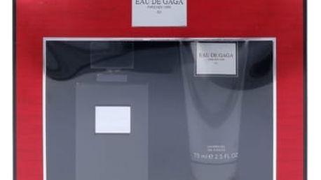 Lady Gaga Eau de Gaga 001 dárková kazeta poškozená krabička unisex parfémovaná voda 50 ml + sprchový gel 75 ml
