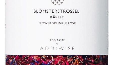 ADD:WISE Jedlé květy chrpy a růže 30gr, růžová barva, plast