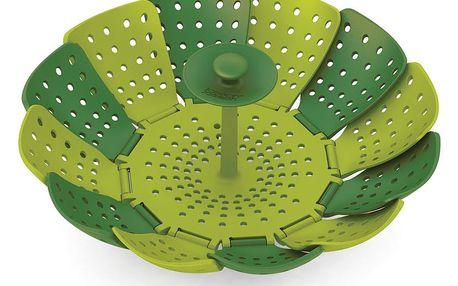 Zelený napařovač Joseph Joseph Lotus Plus, ⌀16,5cm