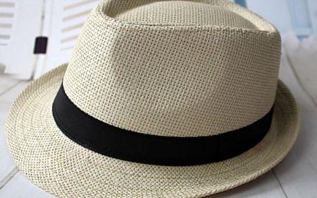 Letní slaměný klobouk - 4 barvy