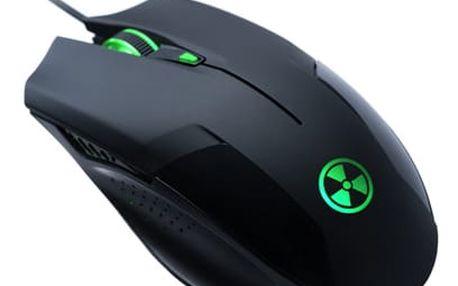 Myš Connect IT Battle Battle černá (/ optická / 6 tlačítek / 2000dpi) (CI-78)