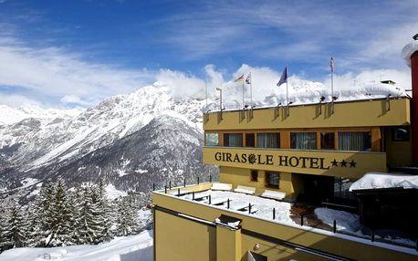 5denní Bormio se skipasem | Hotel Girasole*** | Doprava, ubytování, polopenze a skipas