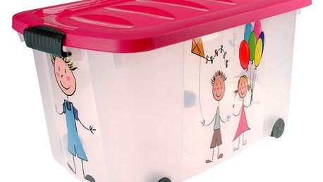 Kontejner na hračky KIDS Emako