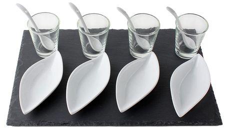 Souprava pro občerstvení, dresinky a předkrmy- 13 dílů EH Excellent Houseware