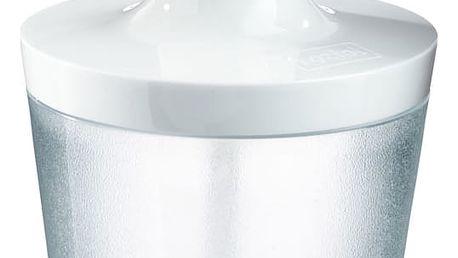 Dávkovač na tekuté mýdlo FLOW - barva transparentní, KOZIOL