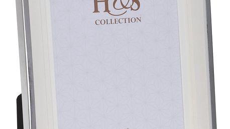 Fotorámeček s kovovým rámem 13 x 18 cm Home Styling Collection