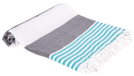 Hamam osuška z ručně tkané bavlny ZFK Audny, 180x100cm