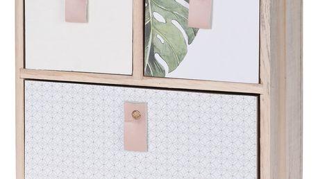 Dřevěná skříňka na drobnosti, se 3 zásuvkami Home Styling Collection