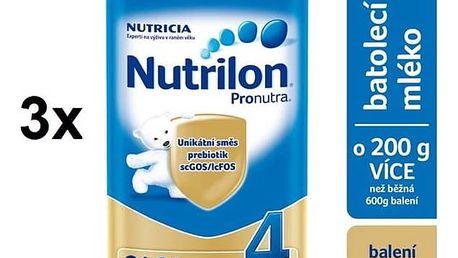 Nutrilon 4 Pronutra, 800g x 3ks + DÁREK