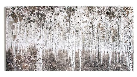 Obraz Graham & Brown Watercolour Wood, 120 x 60 cm