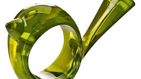 Ozdobný prstenec na ubrousky [pi:p] - olivová barva, KOZIOL