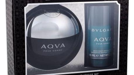 Bvlgari Aqva Pour Homme dárková kazeta pro muže toaletní voda 100 ml + deostick 75 ml