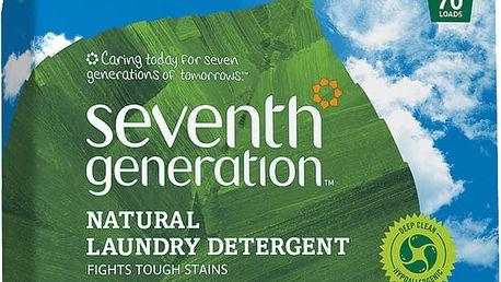 SEVENTH GENERATION Přírodní prací prášek bez parfemace XL (70 dávek) 3,2 kg