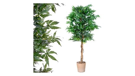 Tuin 1401 Umělá rostlina strom - konopí - 150 cm