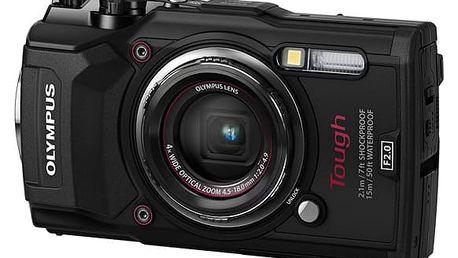 Digitální fotoaparát Olympus TG-5 černý (4545350051099)
