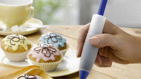 Dekoratér na dorty - silikonové pero, WENKO