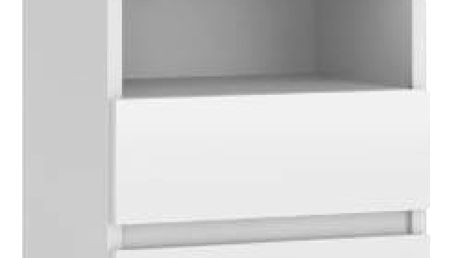 Noční stolek M1 bílá
