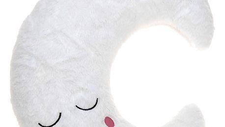 Emako Plyšový polštářek MOON pro dětti se světýlky LED