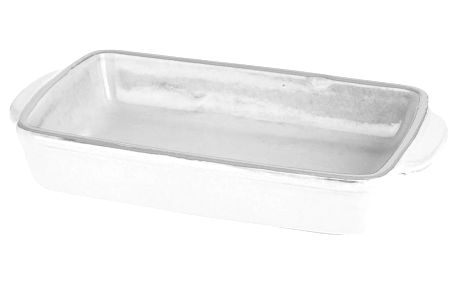 Keramické nádobí žáruvzdorné pro zapékání, barva bílá Emako