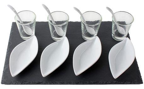 EH Excellent Houseware Souprava pro občerstvení, dresinky a předkrmy- 13 dílů