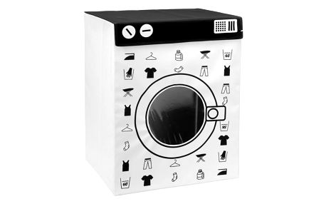 Kontejner na špinavé prádlo WASHING MACHINE, 100 l, XL Emako