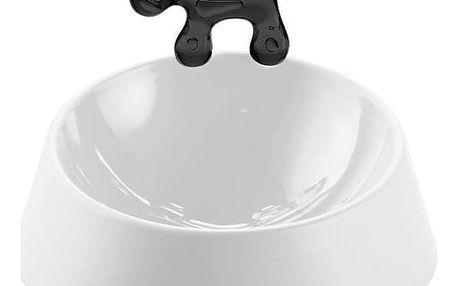 Miska na žrádlo pro psa WOW - barva bílá, KOZIOL