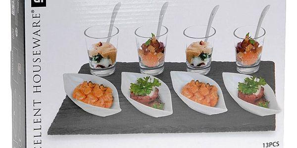 EH Excellent Houseware Souprava pro občerstvení, dresinky a předkrmy- 13 dílů3