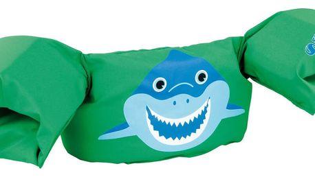 Plovací top SEVYLOR plaváček zelený - žralok