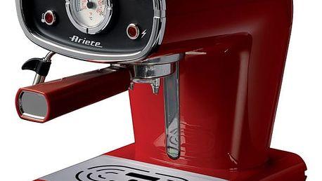 Espresso Ariete ART 1388/30 červené