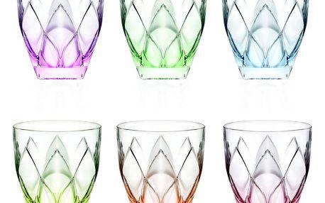 Sada 6 sklenic RCR Cristalleria Italiana Filumena