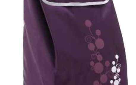 Gimi Nákupní taška na kolečkách Twin fialová, 56 l
