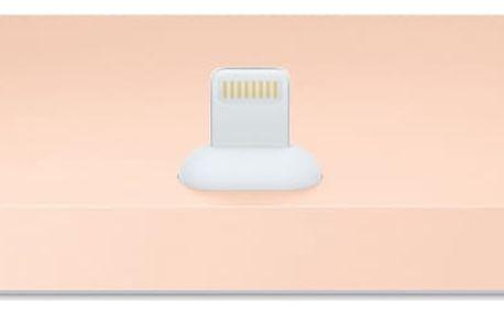 Nabíjecí stojánek Apple pro iPhone zlatý (MQHX2ZM/A)