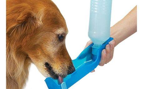 Cestovní láhev na vodu pro psy - 3 barvy
