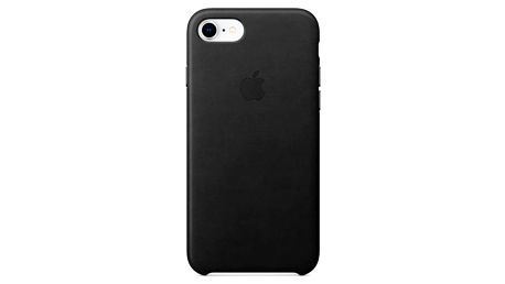Apple Leather Case pro iPhone 8/7 (MQH92ZM/A) černý