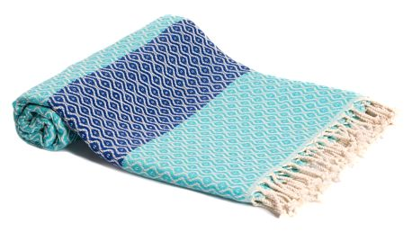 Hamam osuška z ručně tkané bavlny ZFK Agot, 180x95cm