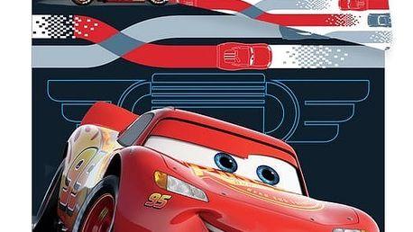 Jerry Fabrics Dětské povlečení Cars 3 McQueen micro, 140 x 200 cm, 70 x 90 cm