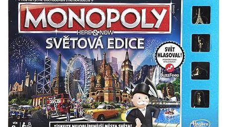 Hasbro Monopoly Here and Now Světová edice CZ