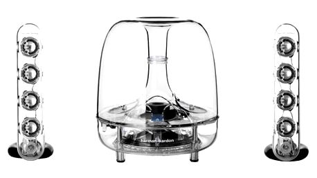 Reproduktory Harman Kardon SoundSticks Wireless průhledné