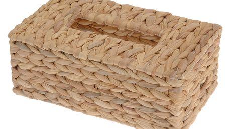 Dóza na papírové kapesníčky, vodní hyacint Home Styling Collection