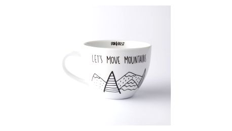 Velký hrnek FOR.REST Design Let´s Move Mountains, 500 ml