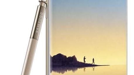 Mobilní telefon Samsung Note8 (SM-N950FZDDETL) zlatý