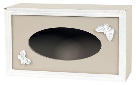 Box na kapesníky Papillon, 24,5 cm
