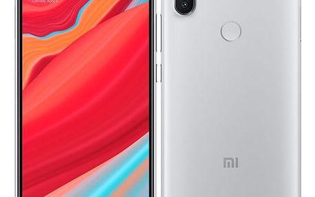 Mobilní telefon Xiaomi Redmi S2 32 GB Dual SIM (18459) šedý Fitness náramek Xiaomi Mi Band 2 černý v hodnotě 599 Kč