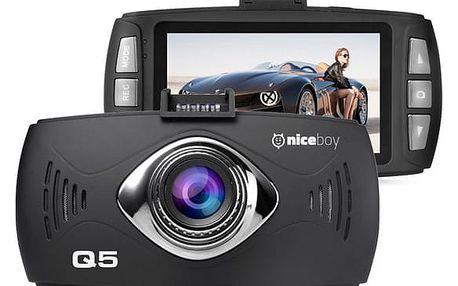 Autokamera Niceboy Q5 černá (q5)