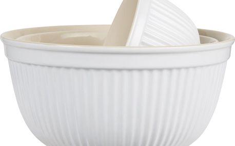 IB LAURSEN Keramická mísa Mynte Pure White Velikost S, bílá barva, keramika