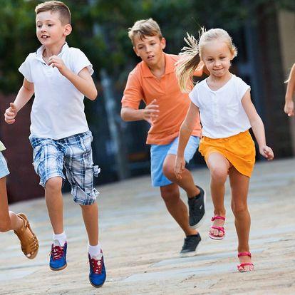 Pololetní běžecký kurz pro děti