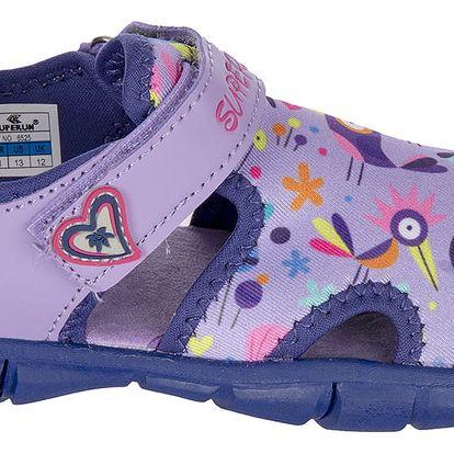 Dětské sandály s výraznou podešví