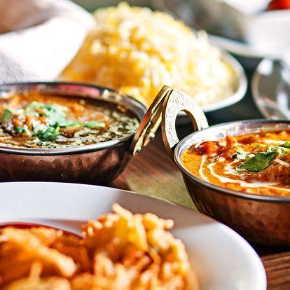 Chutě Nepálu: Bohaté autentické menu pro dva